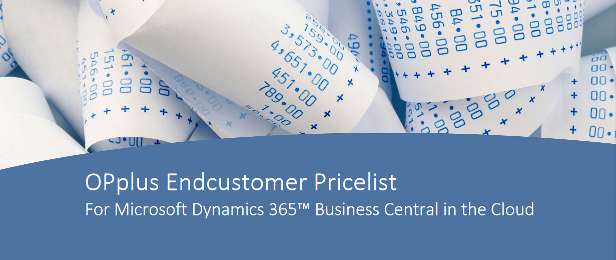 Endcustomer Pricelist (pdf). Click to view/download.